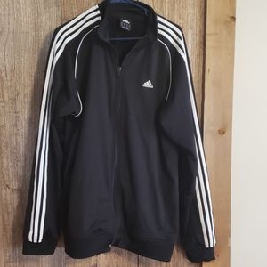 Adidas Track Jacket, size large
